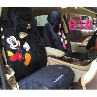 Mickey and Minnie Mouse Sit Cover 18 in 1