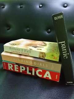 Lauren Oliver Books