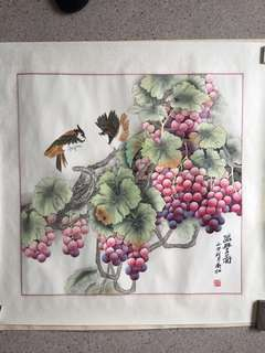 Chinese Painting 衞紅