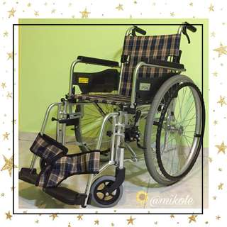 Miki Lightweight Aluminium Wheelchair