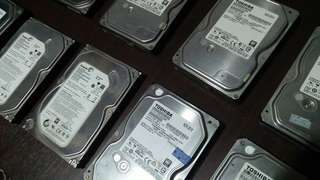 Hard Disk Drive (HDD)  500GB
