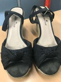 FOR SALE: Payless Black Wedge