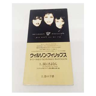 "WILSON PHILLIPS Rare Japan 3"" CD 1992 You Won't See Me Cry"