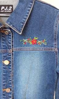 Retro Style Denim Preloved Jacket