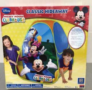 Brand New Playhut Disney Mickey Mouse Clubhouse Play Tent
