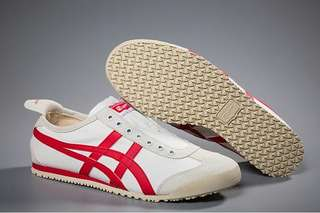 Authentic Onitsuka Tiger Slip On White/Red