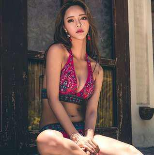 泰國性感圖騰比基尼