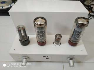EL34 integrated amp with dual inputs