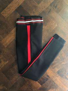 ZARA Leggings with Side Stripes