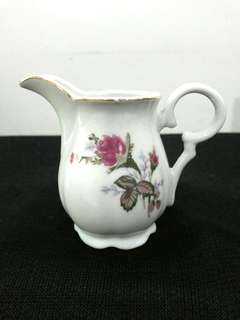 """3"""" Syrup Pot """"Victorian Rose"""""""