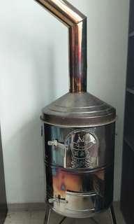 stainless steel incense burner