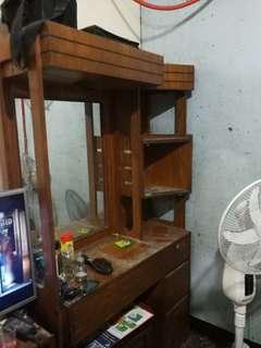 Vintage Real Wood Dresser