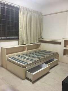 HDB flat 1 room Rental