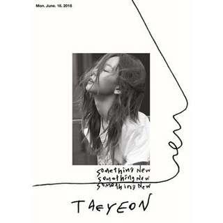 Taeyeon 3rd mini album