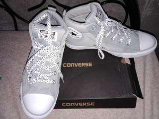 BN Converse Mid Cut Gray