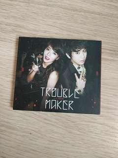 Trouble Maker CD Hyuna 泫雅 JS 賢勝