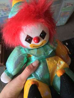 Wind up Musical Clown 12 inches