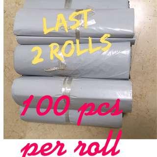 $9 - 100pcs WHITE Polymailer Bag