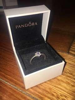 Forget Me Not Pandora Ring