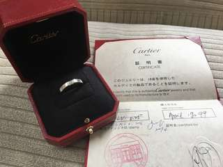 Cartier diamond ring (Vintage)