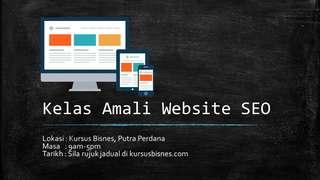 KELAS AMALI Website dan SEO