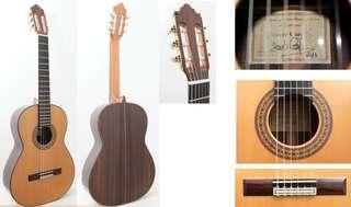 Spanish Studio guitar Vicente Carrillo from Spain