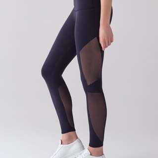 Lululemon reveal navy tights