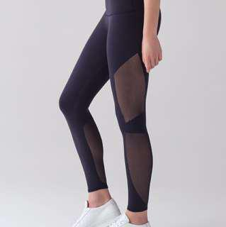 Lululemon reveal navy tights