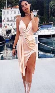REDUCED Pink Silky Dress
