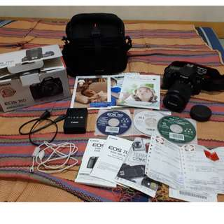 Canon EOS 70D ( Shutter count: 5,753 )