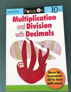 Kumon Math Workbooks (S$6 each)