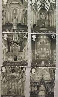 教堂 郵票