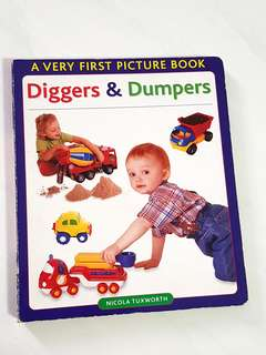 Diggers & Dumpers Big Picture Board Book