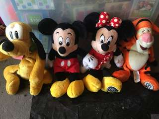 Collectable Walt Disney Plush Toys 2000