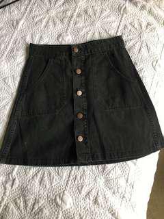 Wrangler High Waisted Skirt