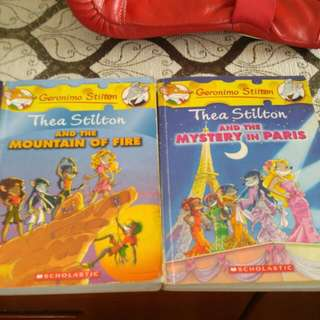 3 Geronimo Stilton Books