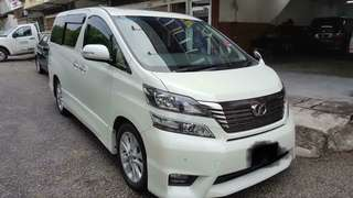 MPV CAR FOR RENT