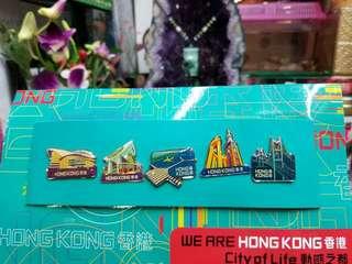 金屬襟章,旅遊局香港