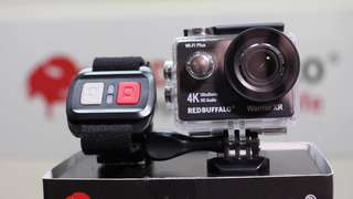 Red Buffalo Warrior XR 4K Wifi Under-Water Sport ActionCam …