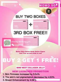 Moshu Collagen Jelly!! Busy enhancement, regulate body, TCM specially Formulated