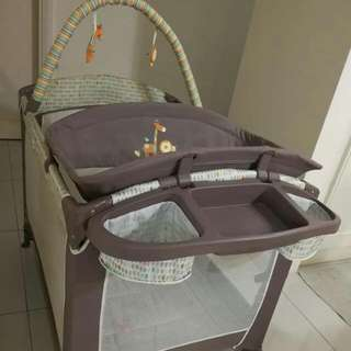 Portable Ingenuity by Bright Start Playpen With Changing Table