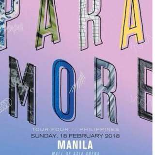 FS 1 LOWER BOX B PARAMORE TOUR FOUR MANILA