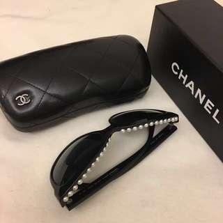 Chanel sunglasses 珍珠 特別版 太陽眼鏡