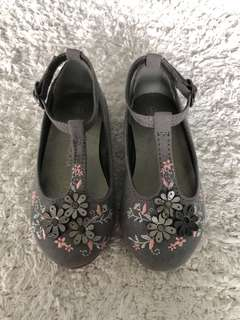 RJR Johnrocha Size EU22 Grey Mary Jane Shoes for Baby/Toddler Gi