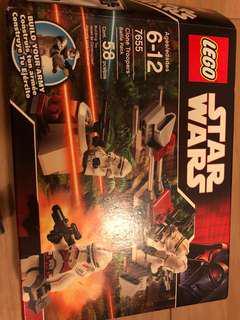 Lego 7655 Star Wars battle pack minifigure 99%新 長期放盒內