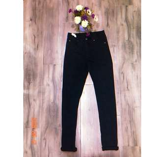 Cheap Monday Black High Waisted Skinny Jeans Sz 28/32 - $40