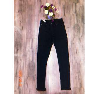Cheap Monday Black High Waisted Skinny Jeans Sz 28x32 - $20
