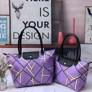 Longchamp Geo Print Tote bag