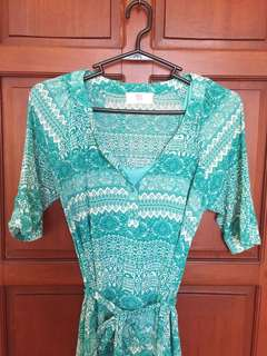 Teal Bayo Dress