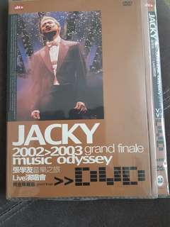 Jackie Cheung 2002-2003 grand finale dvd